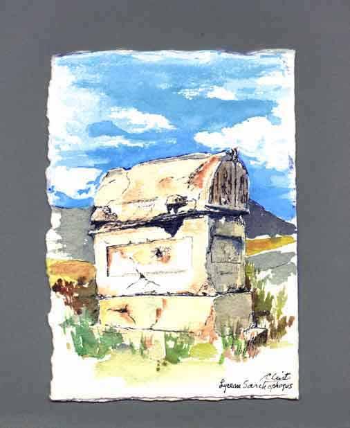 Lycian Sarcophagus